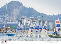 Start Finn<br /> Finn USA Caleb Paine USACP65<br /> <br /> 2016 Olympic Games <br /> Rio de Janeiro