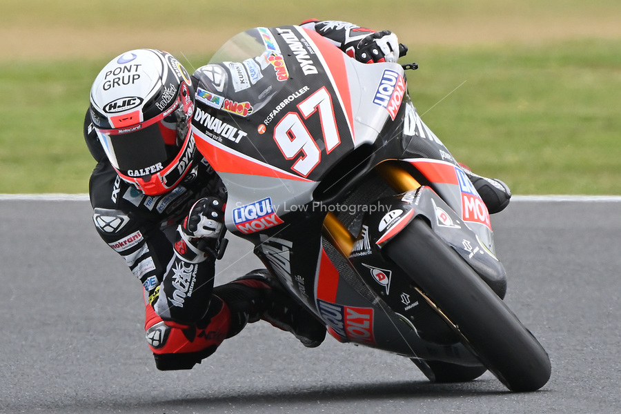 October 27, 2018: Xavi Vierge (SPA) on the No.97 KALEX from Dynavolt Intact Gp during the Moto2 practice session three at the 2018 MotoGP of Australia at Phillip Island Grand Prix Circuit, Victoria, Australia. Photo Sydney Low