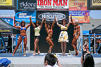 Muscle Beach, Bodybuilding, 20's-50's, Woman, Bikini, Competition, Venice, CA, Oceanfront, walk, Venice Beach, Boardwalk, Los Angeles, California, United States of America