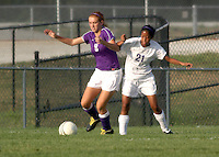 Girls Soccer JV Scrimmage 8-17-09