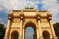 Paris - France -Jardin des Tuileries -Arch