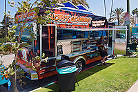 Sloppy Gourmet, Food Truck, Mid Wilshire, Los Angeles CA. Miracle Mile district.