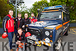 Alan Wallace Piaras Kelly, John Hussey Mark Kirk and Mike Finn  of Kerry Mountain Rescue who rescued two holiday makers on Friday evening