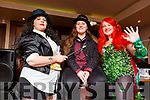 Shannon McCormack (Duagh), Jade O'Brien and Emma Batten (Duagh) at the Cúkon, comic-convention hosted by the I T Tralee's SciFan Society in the Abbey Inn on Sunday.