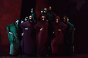 """Buxton International Festival presents """"Macbeth"""", by Verdi, at Buxton Opera House, Buxton, Derbyshire.  Picture shows: The chorus (witches)"""
