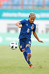 €Ryo Hatsuse (JPN), <br /> AUGUST 19, 2018 - Football / Soccer : <br /> Men's Group D match <br /> between Japan 0-1 Vietnam <br /> at Wibawa Mukti Stadium <br /> during the 2018 Jakarta Palembang Asian Games <br /> in Cikarang, Indonesia. <br /> (Photo by Naoki Morita/AFLO SPORT)