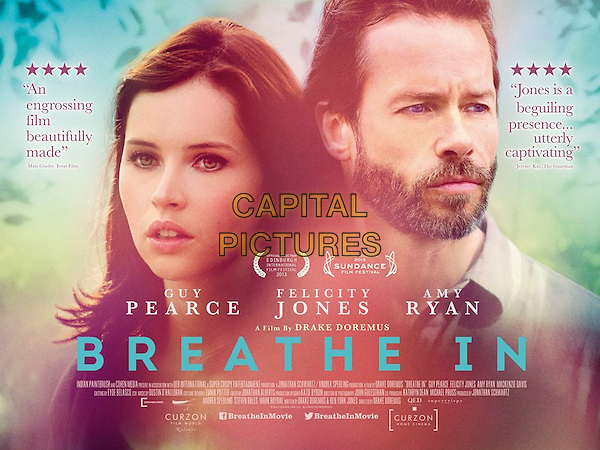POSTER ART<br /> in Breathe In (2013) <br /> *Filmstill - Editorial Use Only*<br /> CAP/NFS<br /> Image supplied by Capital Pictures
