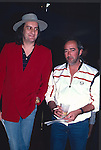 Mick Fleetwood & John McVie of Fleetwood Mac in Los Angeles 1987.