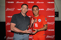 Philadelphia, PA - Tuesday June 14, 2016: Eduardo Vargas during a Copa America Centenario Group D match between Chile (CHI) and Panama (PAN) at Lincoln Financial Field.