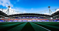 Bolton Wanderer's University of Bolton Stadium<br /> <br /> Photographer Rachel Holborn/CameraSport<br /> <br /> The EFL Sky Bet Championship - Bolton Wanderers v Blackburn Rovers - Saturday 6th October 2018 - University of Bolton Stadium - Bolton<br /> <br /> World Copyright © 2018 CameraSport. All rights reserved. 43 Linden Ave. Countesthorpe. Leicester. England. LE8 5PG - Tel: +44 (0) 116 277 4147 - admin@camerasport.com - www.camerasport.com