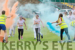 Runners are hit with a paint ambush at the Killarney Colour Run in Killarney Racecourse on Saturday