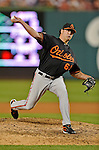 18 May 2012: Baltimore Orioles pitcher Kevin Gregg on the mound against the Washington Nationals at Nationals Park in Washington, DC. The Orioles defeated the Nationals 2-1 in the first game of their 3-game series. Mandatory Credit: Ed Wolfstein Photo