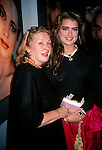 Brooke Shields and mom Teri Shields in New York City, 1989..