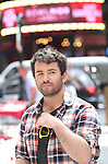 Alex Brightman during the rehearsal for the 8th Annual Broadway Salutes Presentation at Shubert Alley on September 20, 2016 in New York City.