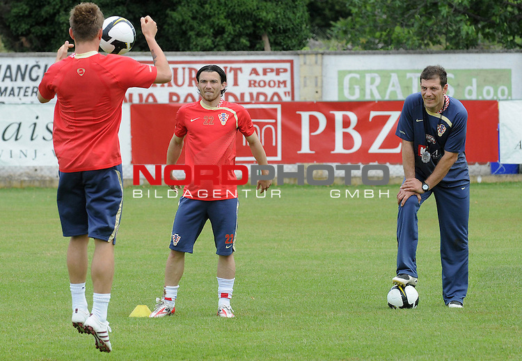 29.05..2009., Rovinj - First day of preparations croatian football national team. 06.06.2009. they are playing qualifying match with Ukraine for World Championship 2010. Danijel Pranjic. <br /> Photo: Anto Magzan/ / nph (  nordphoto  )