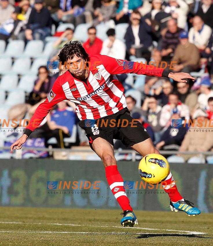 Athletic de Bilbao's Ander Iturraspe during La Liga Match. January 08, 2012. (ALTERPHOTOS/Alvaro Hernandez) .Foto INSIDEFOTO.ITALY ONLY