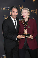 LOS ANGELES - SEP 9:  Paul Witten, Jane Lynch at the 2017 Creative Emmy Awards at the Microsoft Theater on September 9, 2017 in Los Angeles, CA