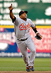 19 May 2007: Baltimore Orioles shortstop Miguel Tejada in action against the Washington Nationals at RFK Stadium in Washington, DC. The Orioles defeated the Nationals 3-2 in the second game of the 3-game interleague series...Mandatory Photo Credit: Ed Wolfstein Photo