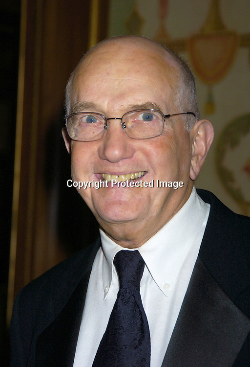 Ed Sherrin ..at The 57th Annual  Writers Guild Awards on February 19, 2005 at The Pierre Hotel in New York City. Claire Labine got ..an award and  Guiding Light won for Best Soap Opera. ..Photo by Robin Platzer, Twin Images.