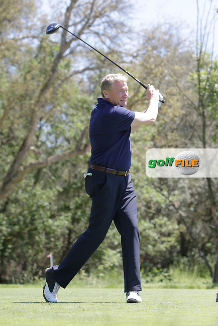 Richard Bevan (AM) on the 17th tee during the Pro-Am in The Open De Espana at The PGA Catalunya Resort on Wednesday 14th May 2014.<br /> Picture:  Thos Caffrey / www.golffile.ie