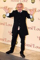 Leo Gullotta.Roma 13/4/2012 Auditorium.To Rome with Love - World Premiere.Foto Insidefoto Andrea Staccioli