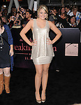 Lauren Alaina attends The Los Angeles premiere of Summit Entertainment's THE TWILIGHT SAGA: BREAKING DAWN PART 1 HELD AT Nokia Theatre at L.A. Live in Los Angeles, California on November 14,2011                                                                               © 2011 DVS / Hollywood Press Agency