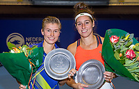 Rotterdam, Netherlands, December 16, 2017, Topsportcentrum, Ned. Loterij NK Tennis, Winners Womans double final: Rosalie van der Hoek (NED) and Demi Schuurs (NED) (L)<br /> Photo: Tennisimages/Henk Koster