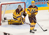 Adam Wilcox (MN - 32), Mike Reilly (MN - 5) - The Union College Dutchmen defeated the University of Minnesota Golden Gophers 7-4 to win the 2014 NCAA D1 men's national championship on Saturday, April 12, 2014, at the Wells Fargo Center in Philadelphia, Pennsylvania.