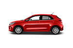 Car Driver side profile view of a 2017 KIA Rio Fusion 5 Door Hatchback Side View