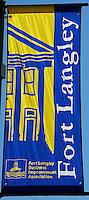 Fort Langley Business Improvement Association Street Banner
