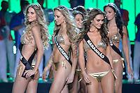 SAO PAULO, SP, 18.11.2015 - MISS BRASIL 2015: Candidatas se apresentam durante concurso Miss Brasil 2015, realizado na noite desta quarta-feira (18) no Citibank Hall em São Paulo.  (Foto: Levi Bianco/Brazil Photo Press)