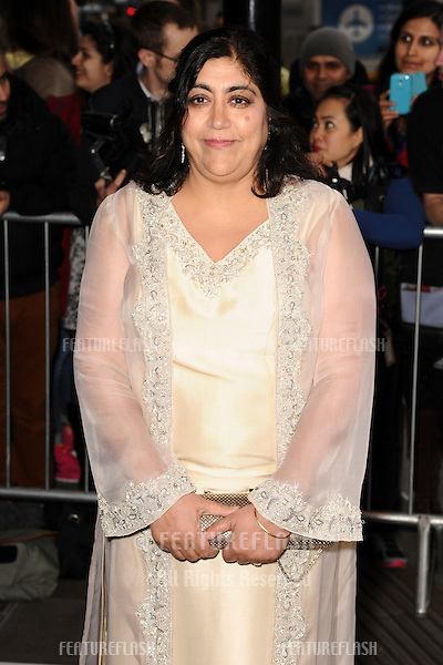 Gurinder Chadha arrives for The Asian Awards 2014 at the Grosvenor House Hotel, London. 04/04/2014 Picture by: Steve Vas / Featureflash