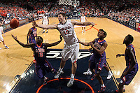 Virginia forward/center Mike Tobey (10) during an ACC basketball game Jan. 13, 2015 in Charlottesville, VA Virginia won 65-42.