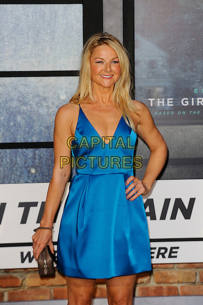 LONDON, ENGLAND - SEPTEMBER 20: Sarah Hadland attending 'The Girl On The Train' World Premiere at Odeon Cinema, Leicester Square on September 20, 2016 in London, England.<br /> CAP/MAR<br /> &copy;MAR/Capital Pictures