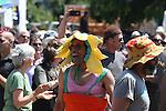 Summer Solstice Parade on Orcas Island, Washington.