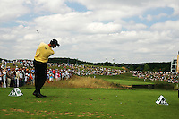Soren Hansen tees off  on the par 3 16th hole during the final round of the 2008 Open de France Alstom at Golf National, Paris, France June 29th 2008 (Photo by Eoin Clarke/GOLFFILE)