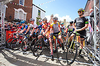 Picture by Alex Whitehead/SWpix.com - 14/05/2017 - Cycling - 2017 HSBC UK | Spring Cup Road Series - Lincoln Grand Prix - start
