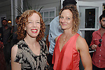 Nina Waisman, Flora Wiegmann==<br /> LAXART 5th Annual Garden Party Presented by Tory Burch==<br /> Private Residence, Beverly Hills, CA==<br /> August 3, 2014==<br /> &copy;LAXART==<br /> Photo: DAVID CROTTY/Laxart.com==