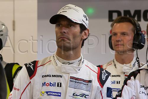 16.06.2016. Le Mans Circuit, Le Mans, France. Le Mans 24 Hours  Qualifying. Porsche Team 919 Hybrid LMP1 driver Mark Webber.