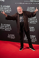 British director Terry Gilliam attends to premiere of 'El hombre que mato a Don Quijote' (The man who killed Don Quixote) at Dore Cinemas in Madrid, Spain. May 28, 2018. (ALTERPHOTOS/Borja B.Hojas) /NortePhoto.com
