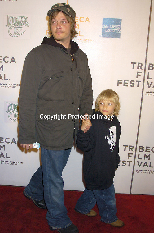 Norman Reedus And Son Mingus At The Tribeca Family Festival World Premiere Of