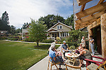 Built Green Homes, Conover Commons, New Craftsman style cottages, by the Cottage Company, Linda Pruitt, Developer, Ross Chapin, Architect, Seattle area, Redmond, Washington State, Pacific Northwest, USA,.