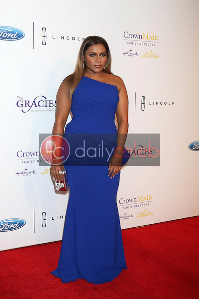 Mindy Kaling<br /> at the 41st Annual Gracie Awards Gala, Beverly Wilshire Hotel, Beverly Hills, CA 05-24-16<br /> David Edwards/DailyCeleb.com 818-249-4998