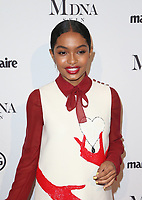 WEST HOLLYWOOD, CA - JANUARY 11: Yara Shahidi, at Marie Claire's Third Annual Image Makers Awards at Delilah LA in West Hollywood, California on January 11, 2018. Credit: Faye Sadou/MediaPunch