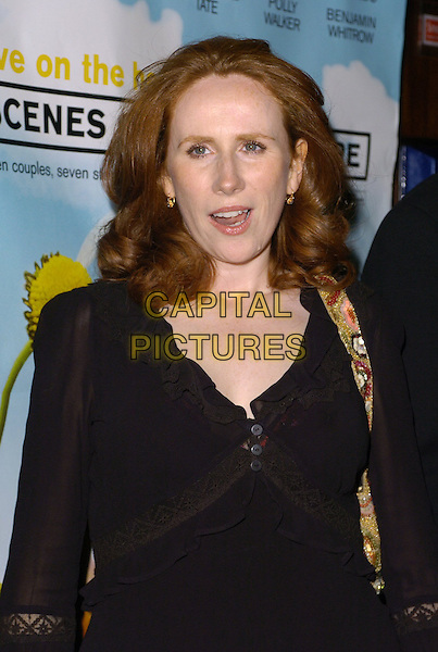 "CATHERINE TATE.At The ""Scenes Of A Sexual Nature"" World Premiere,.London, England, October 8th 2006..half length black top.Ref: CAN.www.capitalpictures.com.sales@capitalpictures.com.©Can Nguyen/Capital Pictures"
