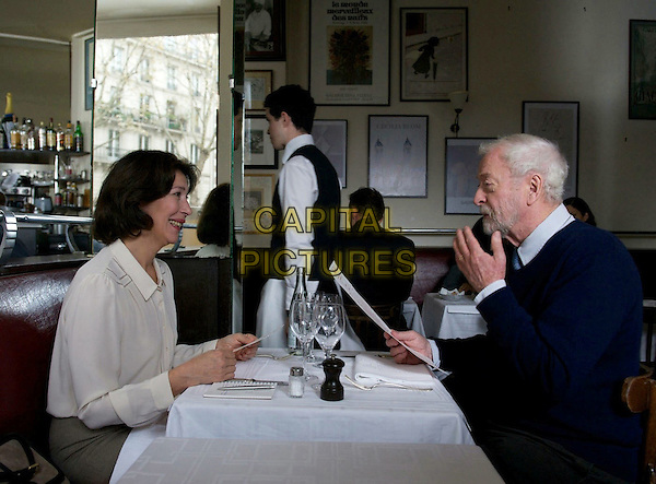 Anne Alvaro, Michael Caine<br /> in Last Love (2013) <br /> (Mr. Morgan's Last Love)<br /> *Filmstill - Editorial Use Only*<br /> CAP/FB<br /> Supplied by Capital Pictures