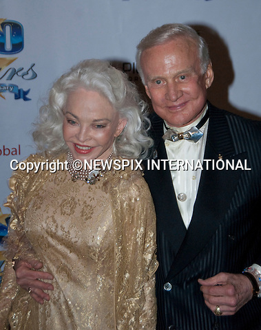 "BUZZ ALDRIN AND LOIS DRIGGS CANNON.The 20th Annual Night of 100 Stars Black Tie Dinner Viewing Gala Beverly Hills Hotel, CA, 7/03/2010.Mandatory Photo Credit: © Andrew BeardNewspix International..**ALL FEES PAYABLE TO: ""NEWSPIX INTERNATIONAL""**..PHOTO CREDIT MANDATORY!!: NEWSPIX INTERNATIONAL(Failure to credit will incur a surcharge of 100% of reproduction fees)..IMMEDIATE CONFIRMATION OF USAGE REQUIRED:.Newspix International, 31 Chinnery Hill, Bishop's Stortford, ENGLAND CM23 3PS.Tel:+441279 324672  ; Fax: +441279656877.Mobile:  0777568 1153.e-mail: info@newspixinternational.co.uk"