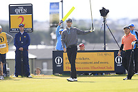 Andrew Wilson (ENG) tees off the 2nd tee during Thursday's Round 1 of the 148th Open Championship, Royal Portrush Golf Club, Portrush, County Antrim, Northern Ireland. 18/07/2019.<br /> Picture Eoin Clarke / Golffile.ie<br /> <br /> All photo usage must carry mandatory copyright credit (© Golffile | Eoin Clarke)