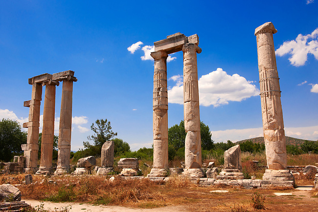The Temple of Aphrodite,  Aphrodisias Archaeological site, Turkey