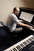 Tim Hambourger, Director of the Duke New Music Esemble, Durham, North Carolina, Monday, Nov. 5, 2012.